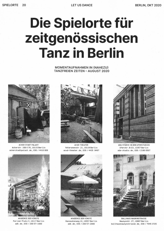 © Tanzbüro Berlin